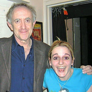 Image shows from L to R: Jonathan Price, Sooz Kempner.