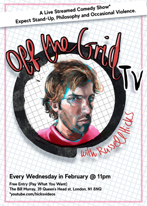 Off The Grid TV with Russell Hicks. Russell Hicks.