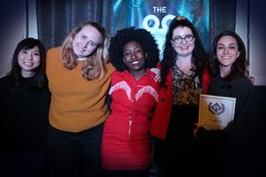 Janine Harouni and Helen Bauer win 99 Club bursary 2019