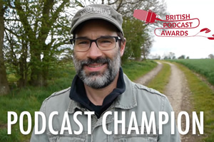 Adam Buxton podcast award