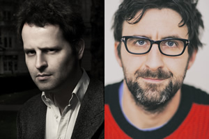 Image shows from L to R: Adam Kay, Mark Watson.