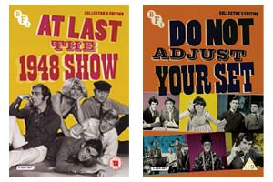 At Last The 1948 Show and Do Not Adjust Your Set DVD covers. Copyright: BFI.