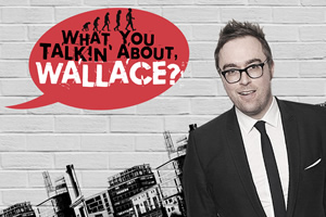 What You Talkin' About Wallace?. Danny Wallace. Copyright: Audible.com.