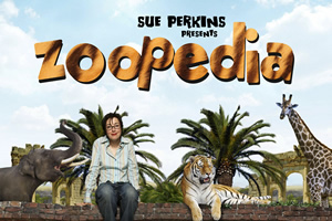 Sue Perkins' Zoopedia. Sue Perkins. Copyright: Audible.com.