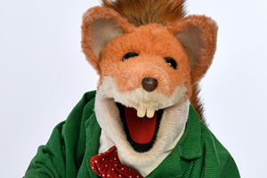 Basil Brush at the Fringe
