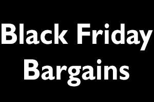Black Friday Bargains. Copyright: BCG.
