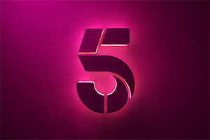 Channel 5 logo.