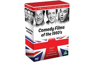 Win a box set of four fabulous fifties comedy films