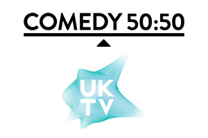 Comedy 50:50 and UKTV.