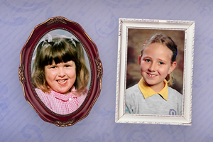 Daddy Look At Me. Image shows from L to R: Rosie Jones, Helen Bauer.