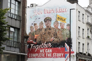 Dad's Army - The Lost Episodes - Dad's Army wall mural