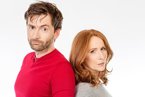 Catherine Tate and David Tennant in new comedy