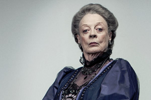 Violet Crawley from Downton Abbey. Maggie Smith. Copyright: ITV.