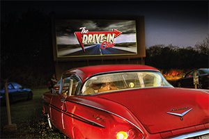 Drive-in comedy gigs