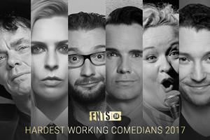 Hardest Working Comedians 2017