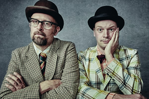 The Establishment. Image shows from L to R: Dan Lees, Neil Frost. Copyright: Mark Dawson.