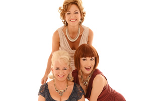 Fascinating Aida. Image shows from L to R: Dillie Keane, Liza Pulman, Adèle Anderson.