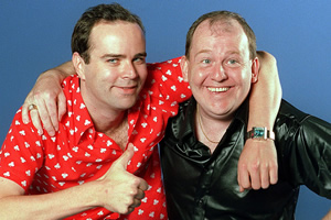 The Moments That Made.... Image shows from L to R: Greg Hemphill, Ford Kiernan.