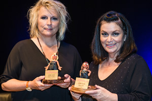 French & Saunders receive Comedy Legend Award