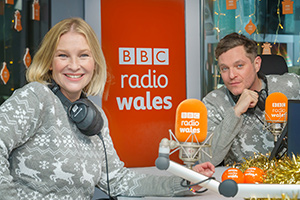 Gavin & Stacey stars on Radio Wales