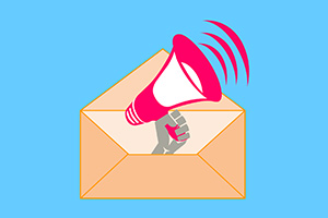 Using email newsletters to promote your comedy