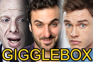 Gigglebox, in aid of the CTBF. Featuring Steve Furst, Patrick Monahan and Ed Gamble.