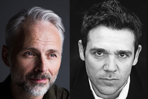 Guilt. Image shows from L to R: Max (Mark Bonnar), Jake (Jamie Sives).