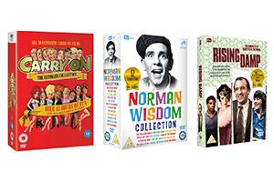 Win a huge ITV comedy DVD bundle