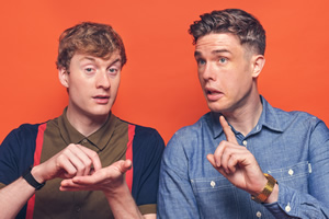 James Acaster and Ed Gamble interview