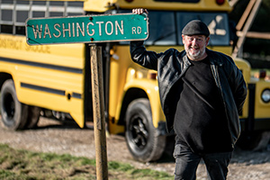 Johnny Vegas: Carry On Glamping - Interview