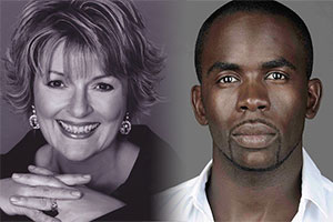 Kate And Kolo. Image shows from L to R: Kate (Brenda Blethyn), Kolo (Jimmy Akingbola).