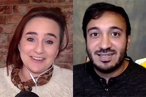 Laura Lexx and Bilal Zafar discuss creating online content