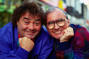 Little & Large. Image shows from L to R: Eddie Large, Syd Little.