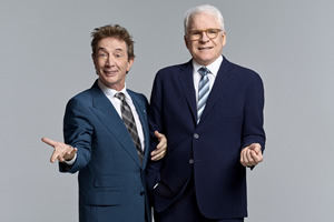 Image shows from L to R: Martin Short, Steve Martin.