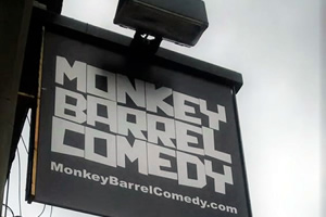 Monkey Barrel Comedy.