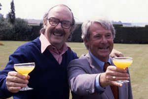The Morecambe & Wise Show. Image shows from L to R: Eric Morecambe, Ernie Wise. Copyright: BBC History.