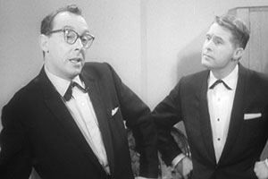 Image shows from L to R: Eric Morecambe, Ernie Wise. Copyright: BFI.