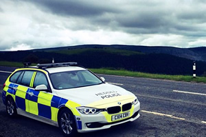 Welsh Traffic Police.