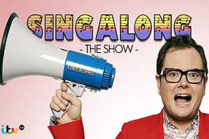 Alan Carr hosts ITV Singalong