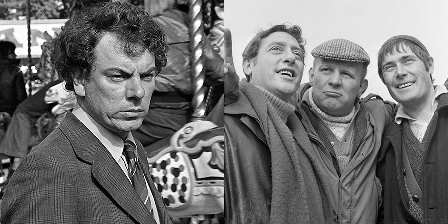 Image shows from L to R: Brian Glover, Ray Mort, Douglas Livingstone, Alun Armstrong. Copyright: BBC.