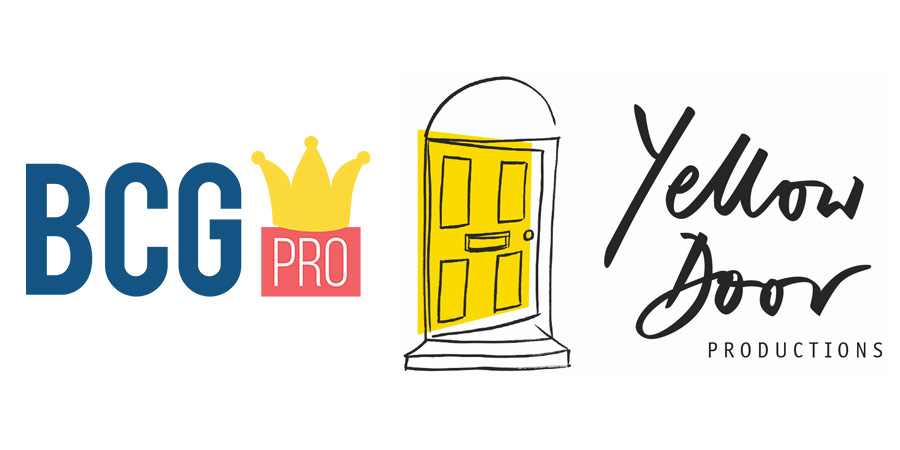 BCG Pro and Yellow Door Productions logos.