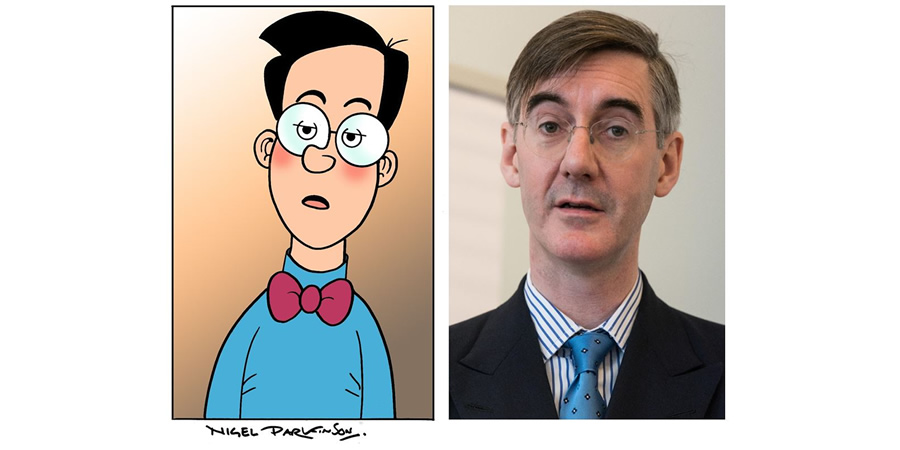 Beano accuses Jacob Rees-Mogg of impersonating Walter the Softy