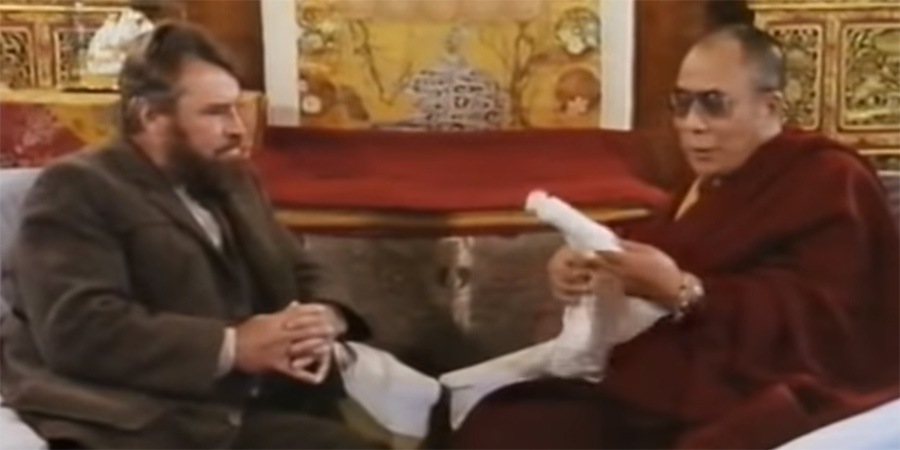 Galahad Of Everest: Brian Blessed meets The Dalai Lama. Brian Blessed.