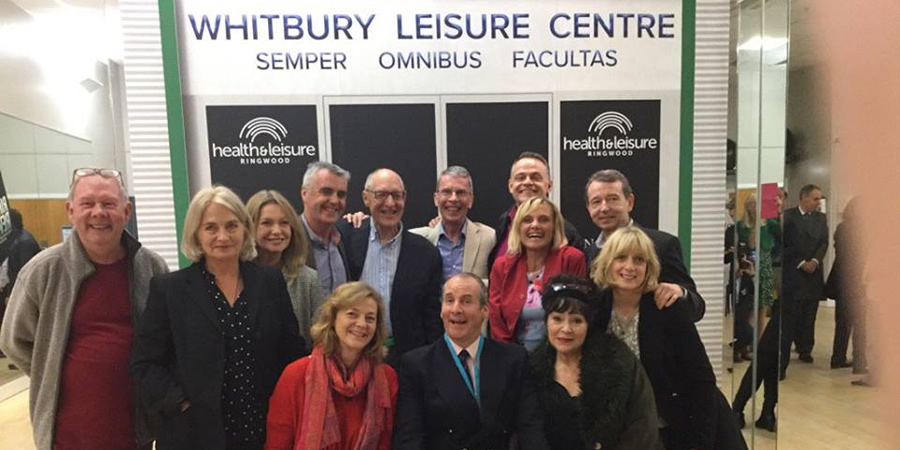 Brittas Empire reunion.