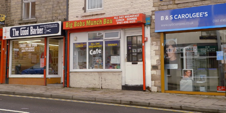 The Good Barber, Big Bobs Munch Box, B&S Carolgee's.