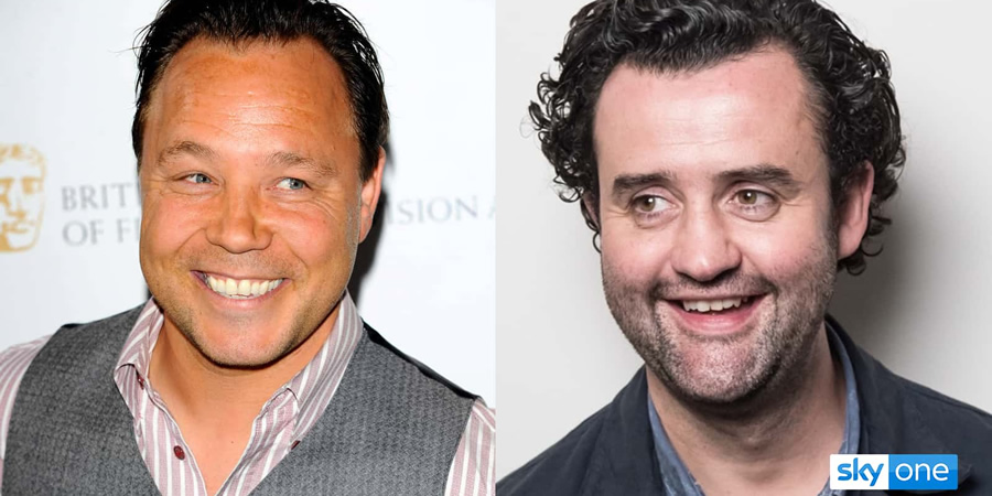 Code 404. Image shows from L to R: DI Roy Carver (Stephen Graham), DI John Major (Daniel Mays).