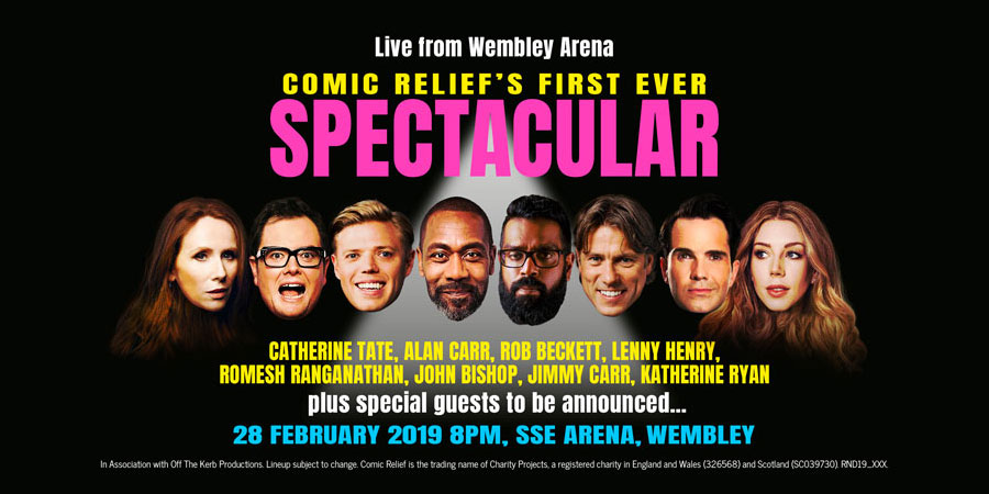 Comic Relief Spectacular 2019. Copyright: Comic Relief.
