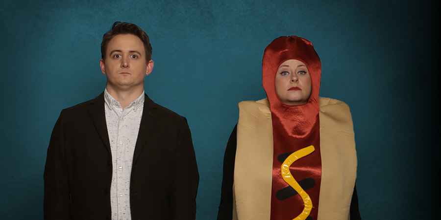 The Delightful Sausage. Image shows from L to R: Chris Cantrill, Amy Gledhill.
