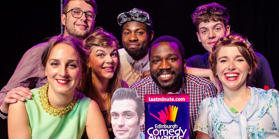 Edinburgh Comedy Awards best newcomer nominees 2017. Image shows from L to R: Lucy Pearman, Chris Washington, Lauren Pattison, Darren Harriott, Kwame Asante, Ed Night, Natalie Palamides.