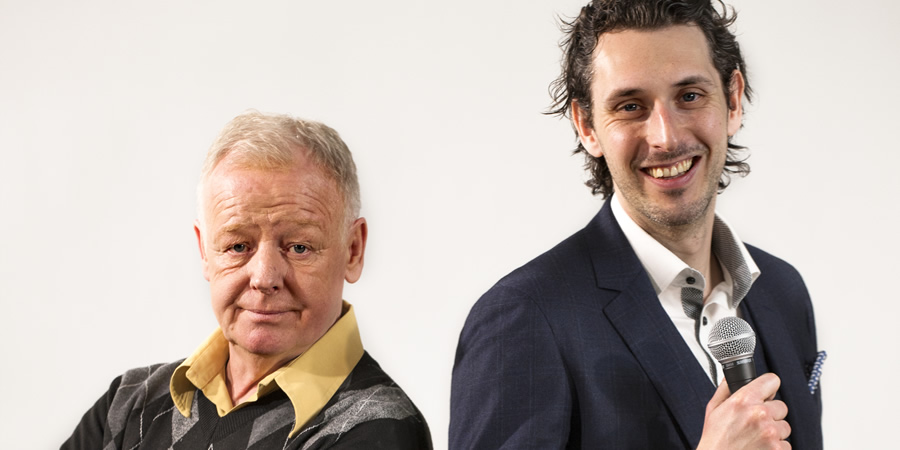 End Of The Pier. Image shows from L to R: Les Dennis, Blake Harrison. Copyright: Simon Annand.